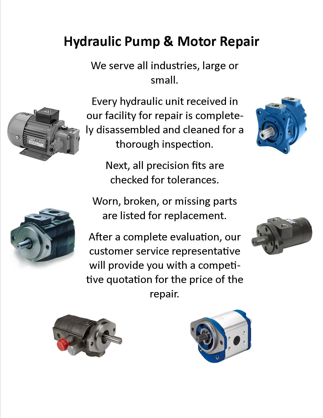 Hydraulic & Pump repairs ZZZ